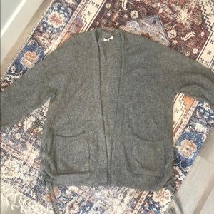 Madewell sweater jacket